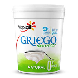 Yogurt natural sin azucar griego 1kg pza