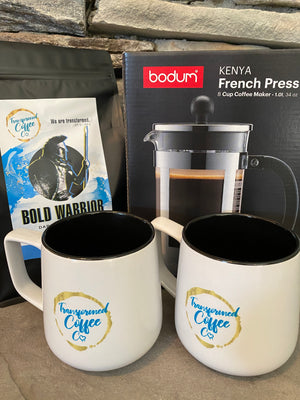 Transformed Coffee Co. - French Press Lovers Gift Pack