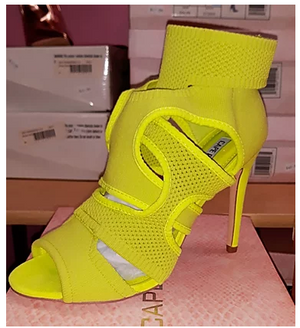 Open Toe Neon Scandel