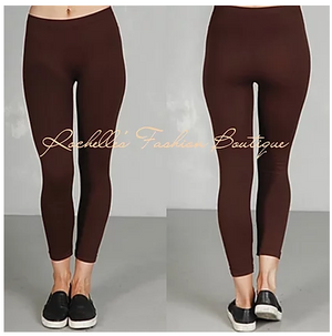 Brown One Size Leggings
