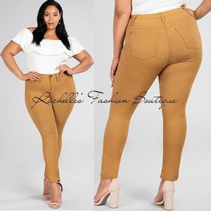 Peanut Top High Rise Strength Pants