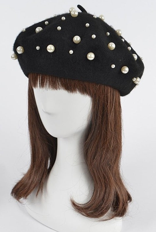 Black Pearl Fashionable Hat