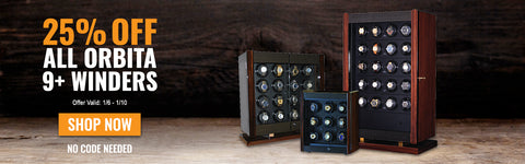 Multi-Unit 9+ Watch Winder Deals