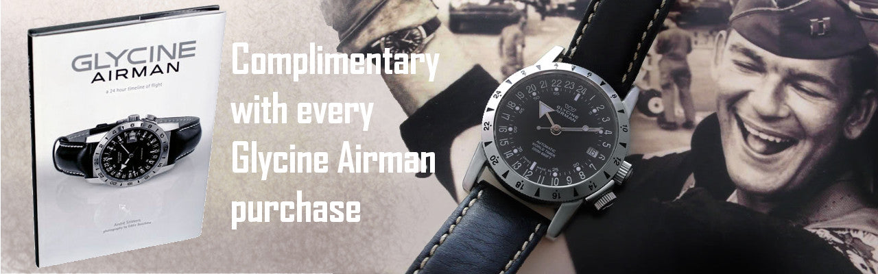 Authorized dealer Glycine Clomplimentary Airman Sale 1024x1024