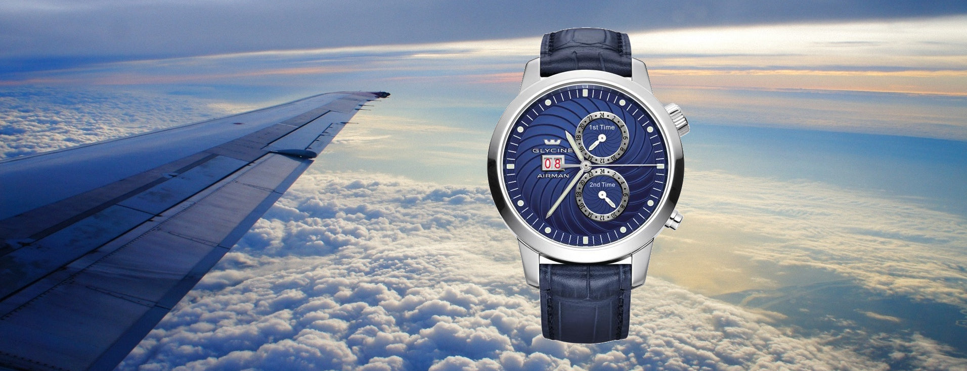 Glycine Airman 7 in dark blue