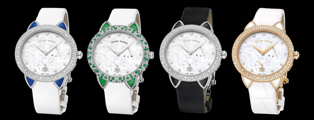 Ulysse Nardin 'Jade' ladies watch collection