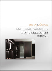 Buben & Zorweg Grand Collector In-built Materials Samples Cover