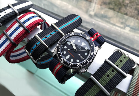 Watches with nato strap