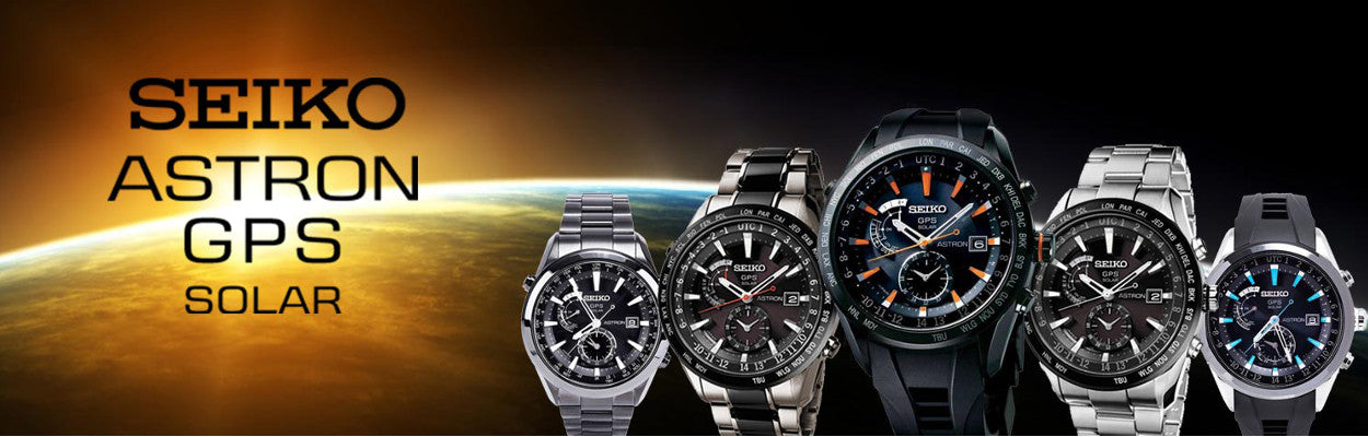 Seiko Astron GPS Solar Collection