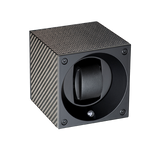 watch winder in black carbon