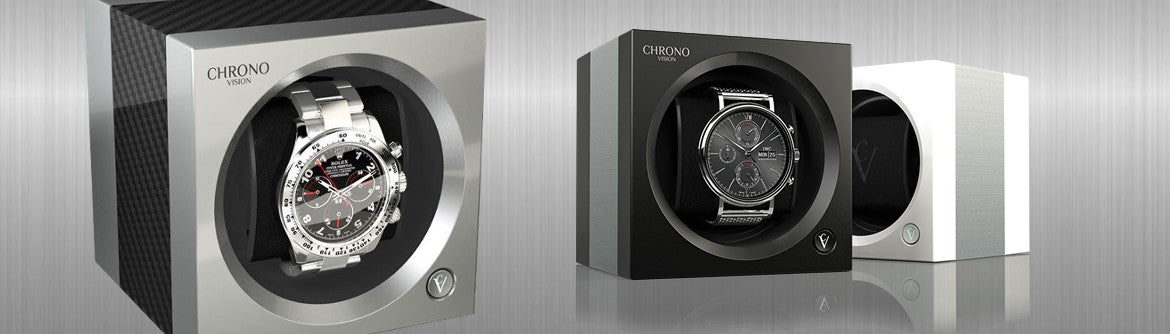 Timescape Chronovision watch winder brand page