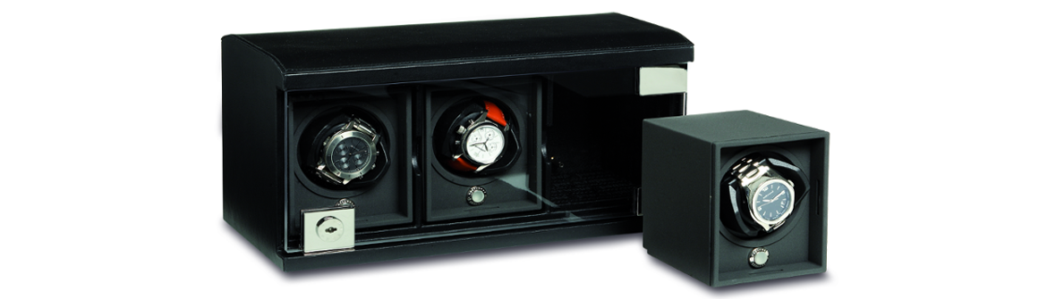 Underwood Black Luxury Watch Winders