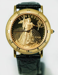 Lady Liberty Coin Watch