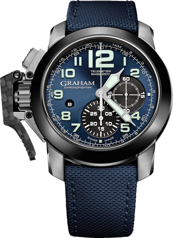 Graham - Chronofighter Oversize  | Ref. 2CCAC.U01A.T22S