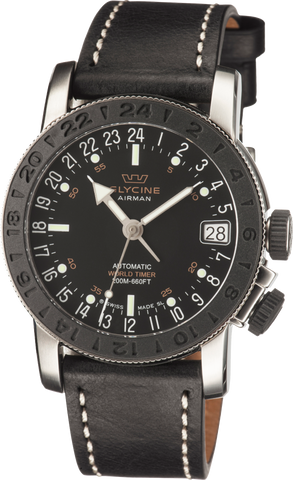 Glycine - Airman World Timer Automatic | Ref. 3927.191 LB9B