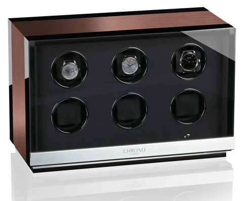 Chronovision - Ambiance 6 - Aluminium / Black High Gloss | 70050/152.45.11