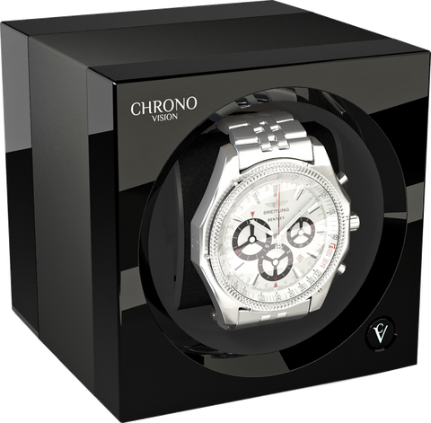 Chronovision One - Titanium Anodized / Black High Gloss | 70050/101.29.11