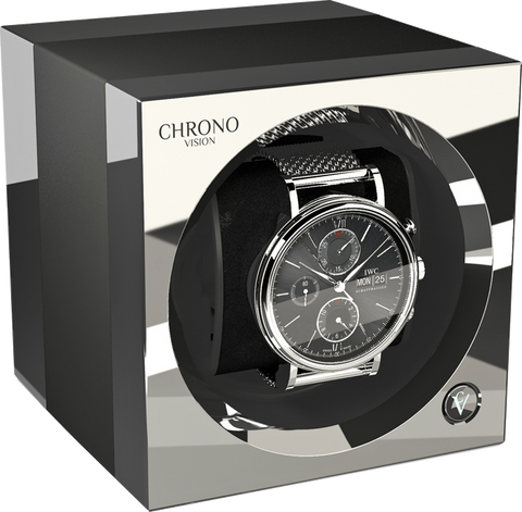 Chronovision One - Anodized Titanium / Chrome | 70050/101.29.15