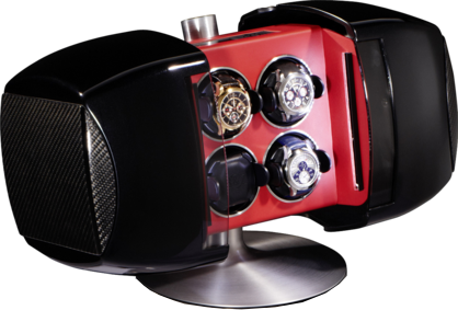 Carbon Diablo Phantom 4 Burben & Zorweg Watch Winder Case