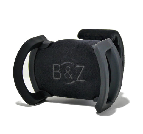 Buben & Zorweg - Universal Watch Cradle | Black Suede