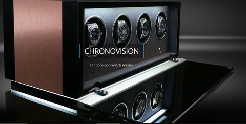 Chronovision - Ambiance 8 - Aluminium / Black High Gloss | 70050/153.45.11
