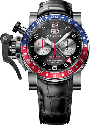 Graham - Chronofighter Oversize GMT 'pepsi' | Ref. 2OVHS.B39A