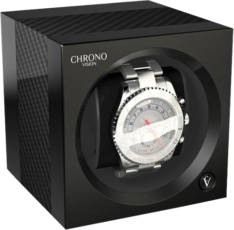 Chronovision One - Carbon / White Silk | 70050/101.17.12