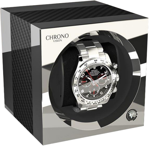 Chronovision One - Carbon / Chrome | 70050/101.17.15
