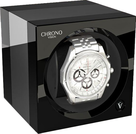 Chronovision One - Chrome / Black High-Gloss | 70050/101.15.11