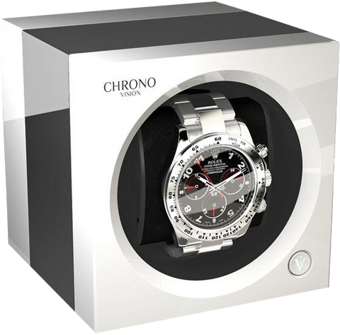 Chronovision One - Chrome / White High Gloss | 70050/101.15.13