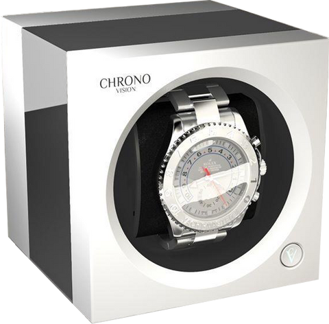 Chronovision One - Chrome / White Silk | 70050/101.15.12