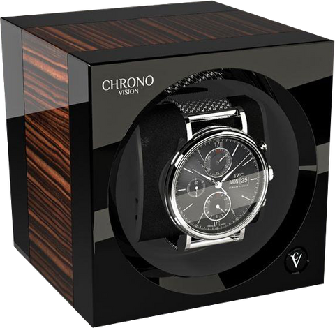 Chronovision One - Macassar High Gloss / Black High Gloss | 70050/101.19.11