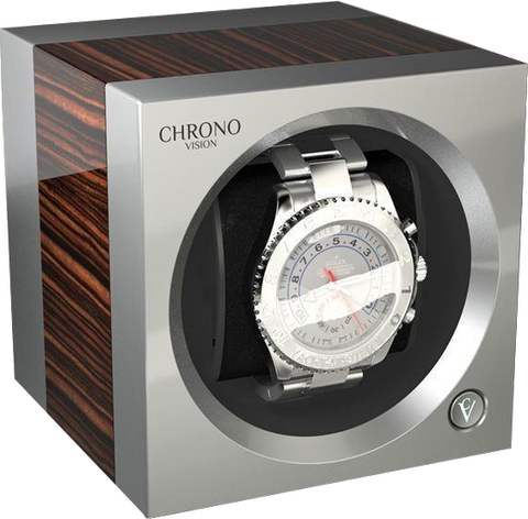 Chronovision One - Macassar High Gloss / Chrome Silk | 70050/101.19.14