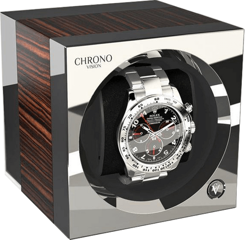 Chronovision One - Macassar Silk / Chrome | 70050/101.18.15