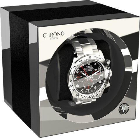 Chronovision One - Anodized Aluminium / Chrome | 70050/101.31.15