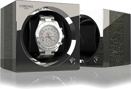 Chronovision One - Argento High Gloss / Chrome | 70050/101.21.15