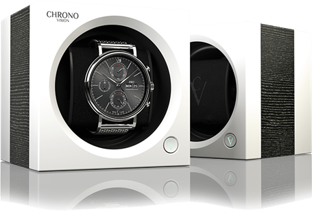 Chronovision One - Argento Silk / White Silk | 70050/101.20.12