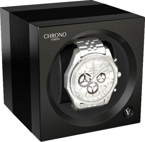 Chronovision One - Anodized Aluminium / Black Silk | 70050/101.31.10