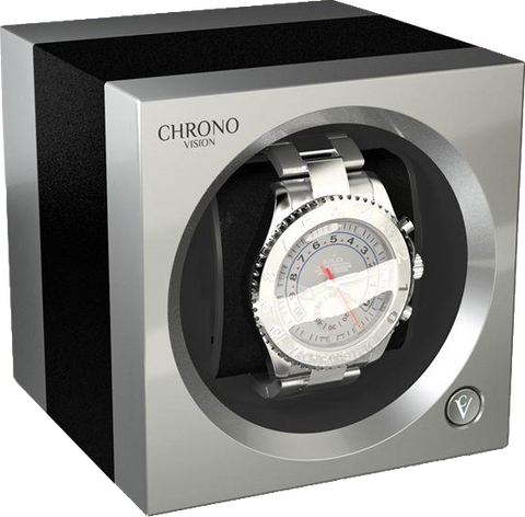 Chronovision One - Anodized Aluminium / Chrome Silk | 70050/101.31.14