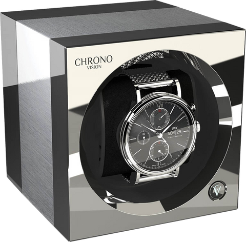 Chronovision One - Brushed Aluminium / Chrome | 70050/101.30.15