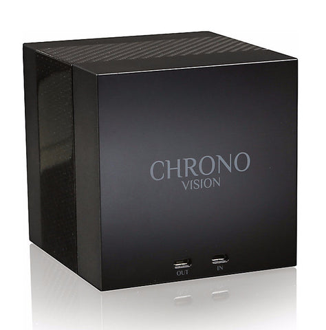 Chronovision One - Black Anodized / Chrome Silk | 70050/101.31.14