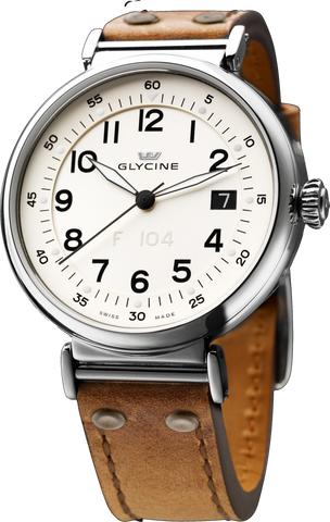 Glycine - F 104 automatic 40mm | Ref. 3933.14AT LB7R
