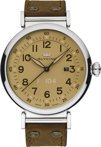 Glycine - F 104 automatic 40mm | Ref. 3933.15AT LB7R