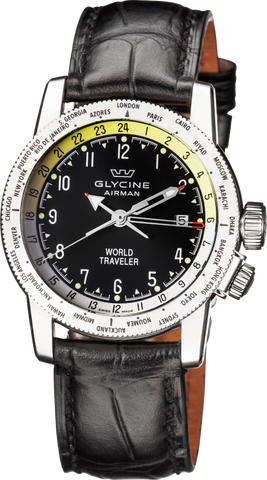 Glycine - Airman World Traveler | Ref. 3939.19 LBK9