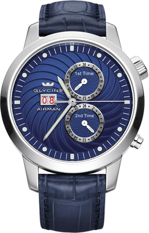 Glycine - Airman 7 Automatic  | Ref.3919.18-LB8B