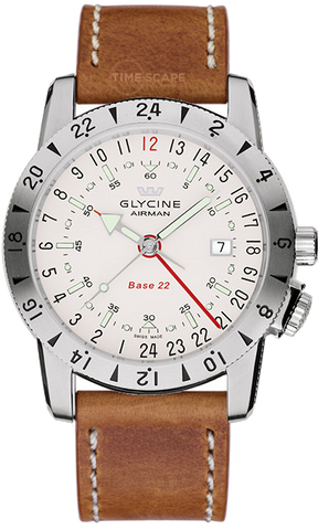 Glycine - Airman Base 22 - GMT | Ref. 3887-11-LB7BH