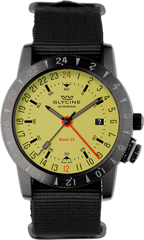 Glycine - Airman Base 22 - Luminous GMT | Ref. 3887-95SL-TB99