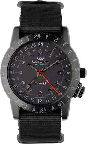 Glycine - Airman Base 22 - Mystery GMT | Ref. 3887-99-TB99