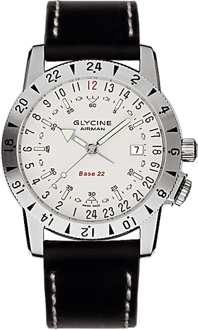 Glycine - Airman Base 22 - Purist | Ref. 3887-11-66-LBK9