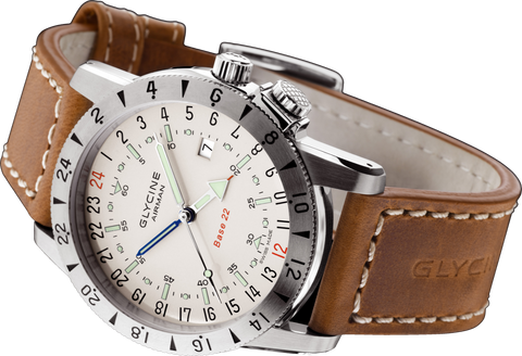 Glycine - Airman Base 22 - Purist | Ref. 3887-11/66-LB7BH